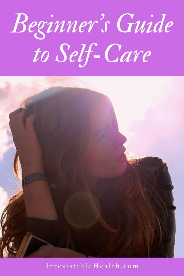 beginner' guide to self-care 3