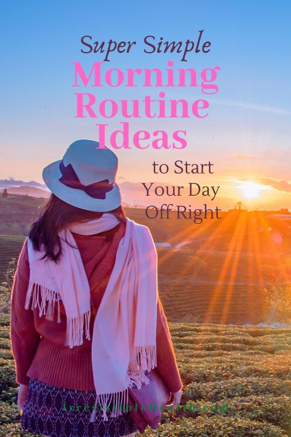 healthy morning routine ideas