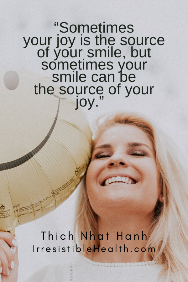 Hanh quote smile