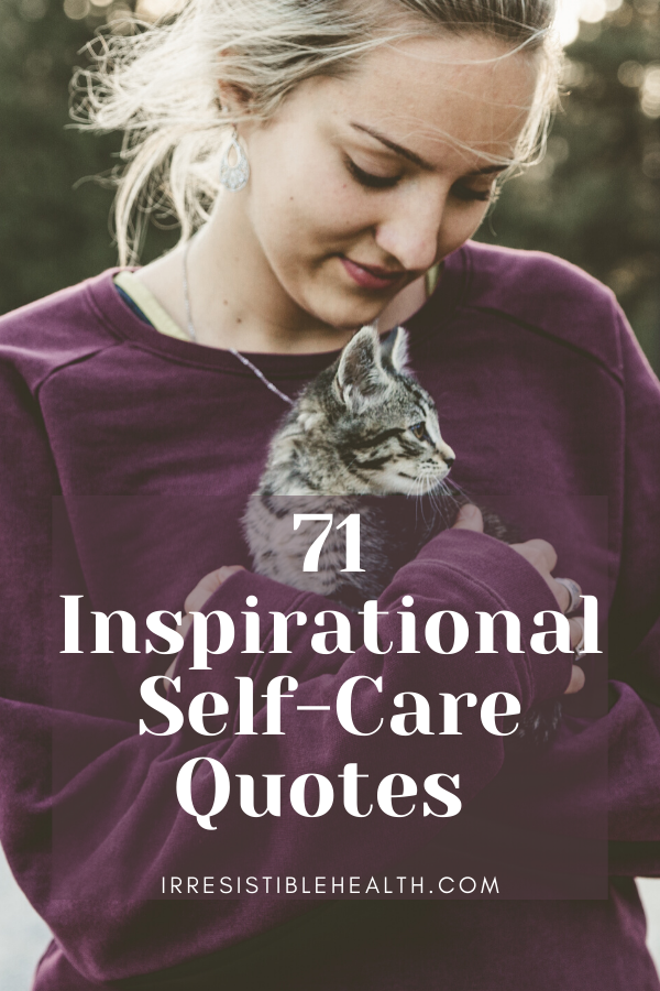 inspirational self care quotes