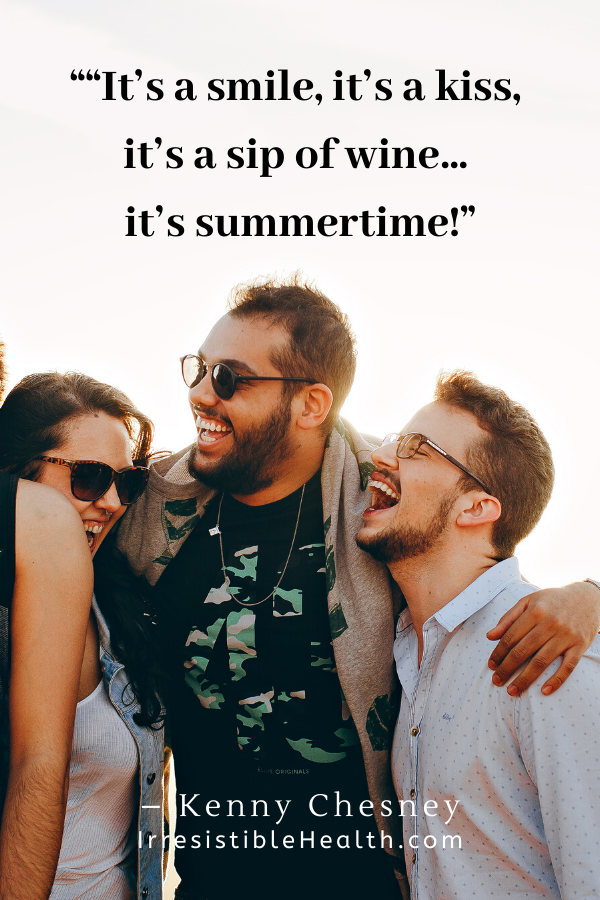 chesney summertime quote