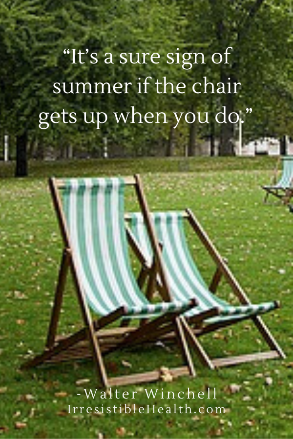 winchell summer chair quote